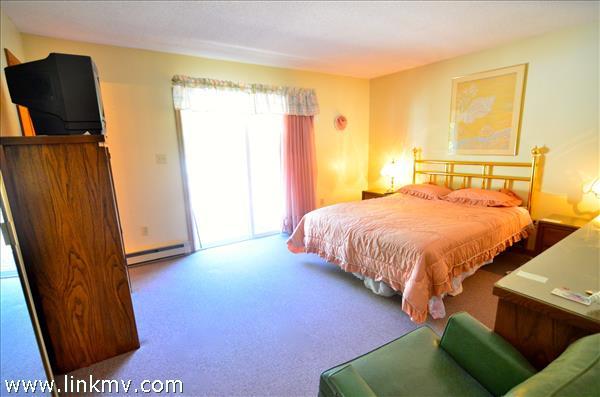 Master Bedroom with Slider to Deck