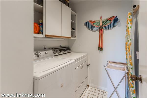 Essential laundry room.