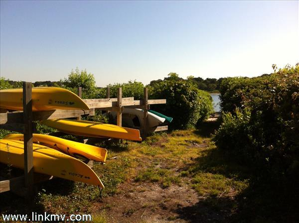 A place to store your kayak or paddle board...