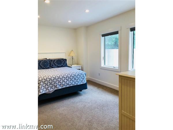 Well-lit bedrooms.