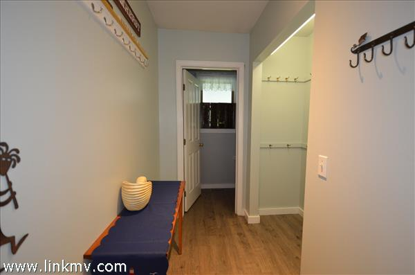 Mudroom - there is so much space and storage!