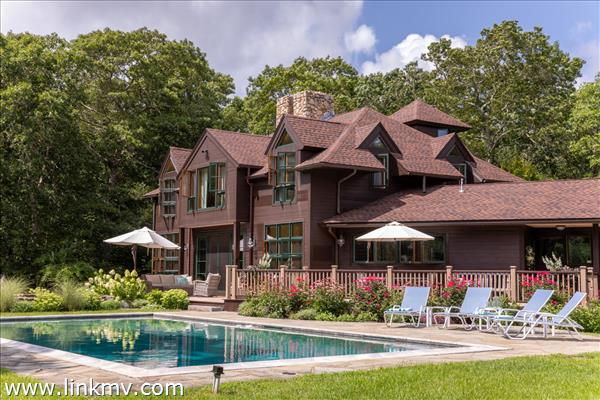Private West Tisbury Estate with pool