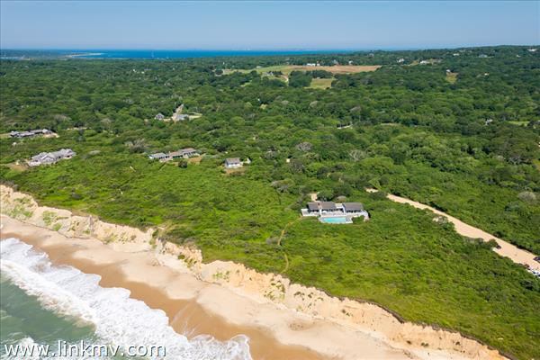 With direct access to 440 ft of private ocean beach