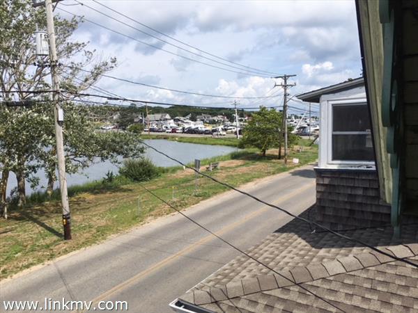 Balcony views toward Oak Bluffs Harbor
