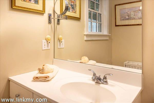 Master Bath Has Tub and Shower Combination - First Floor