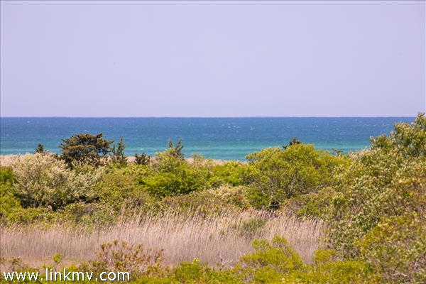 The views are across conservation land to Nantucket Sound