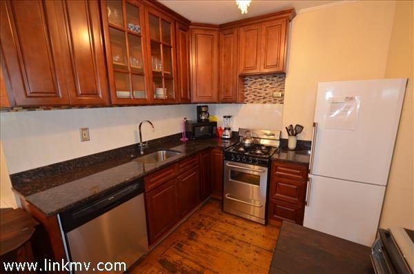 First floor Front apartment kitchen