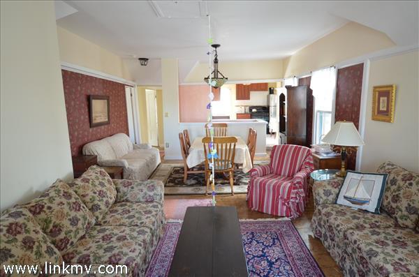 Apt 3 second  floor open living area