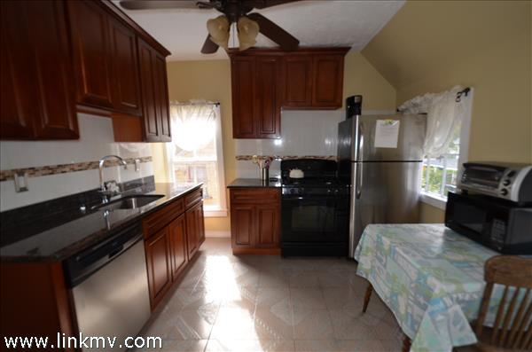 2nd floor apartment updated kitchen