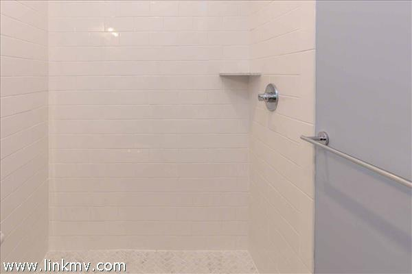 Master Bath Has Glass Walk-In Shower (Unfinished)