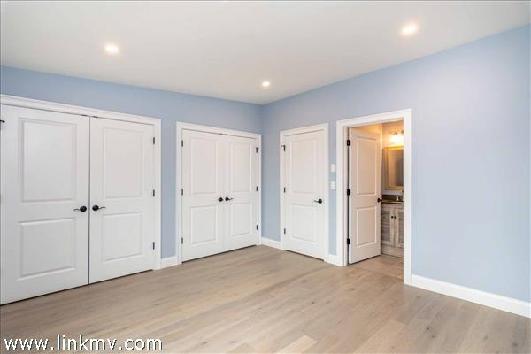 Master Bedroom Has Private Bathroom