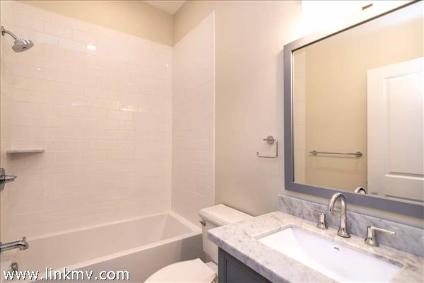 Bathroom #2 Has Tub and Shower Combination