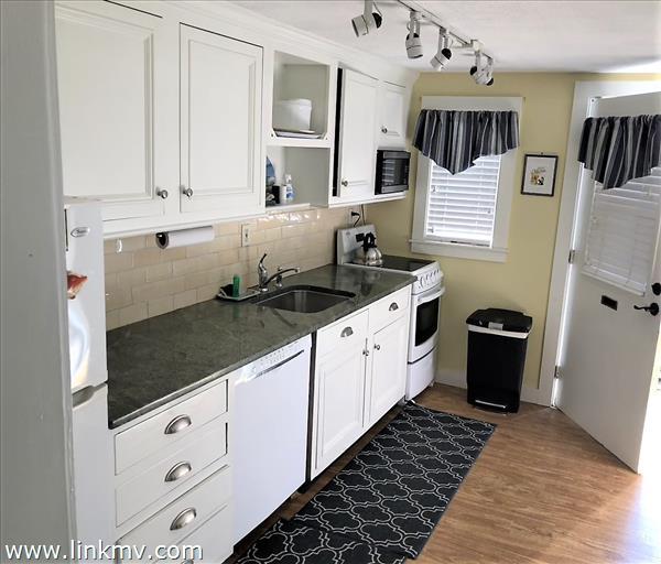 attractive updated modern kitchen