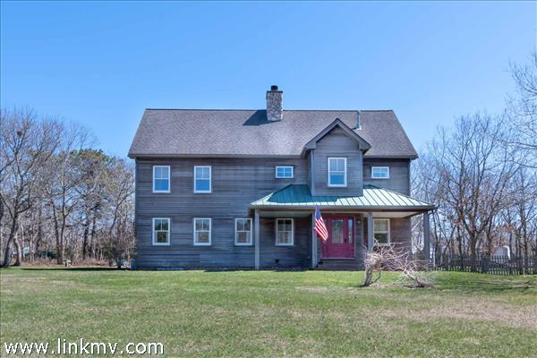 West Tisbury Home with Horse Farm