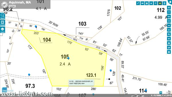Aquinnah Land for Sale in Aquinnah, #35217