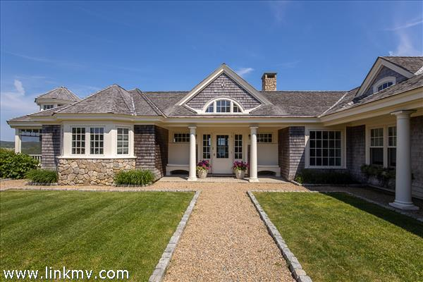 Built by Andrew Flake Construction, one of Martha's Vineyard's premier builders