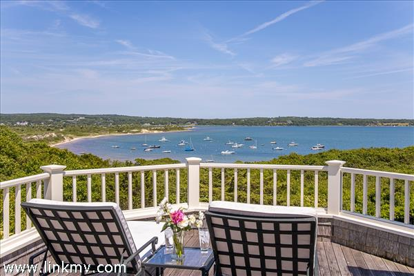 Some of the most commanding views on Martha's Vineyard.